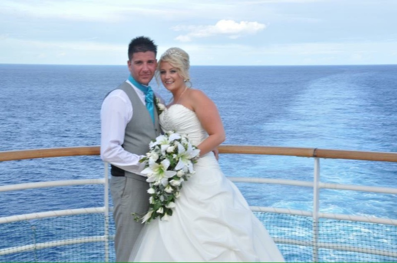 Cruise Weddings: Amy's Wedding